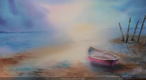 Barque et brume